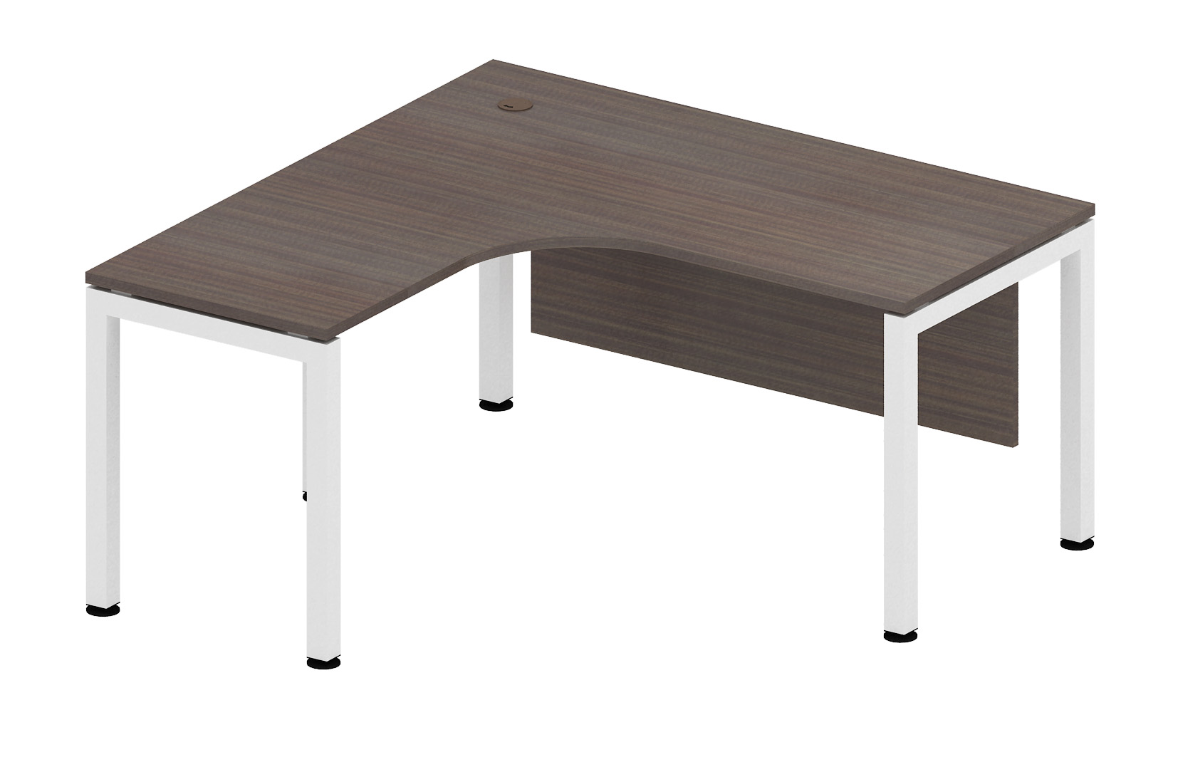 One Series Corporate Oregon L-Shape Office Desk Malaysia