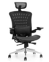 Abraxos Series Presidential High Back Mesh Chair